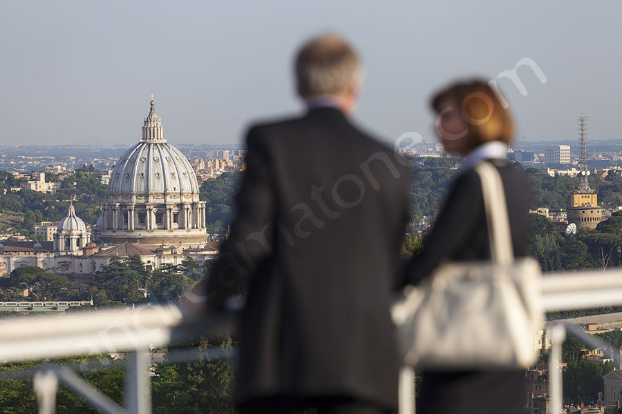 Photo tour of Rome from the terrace