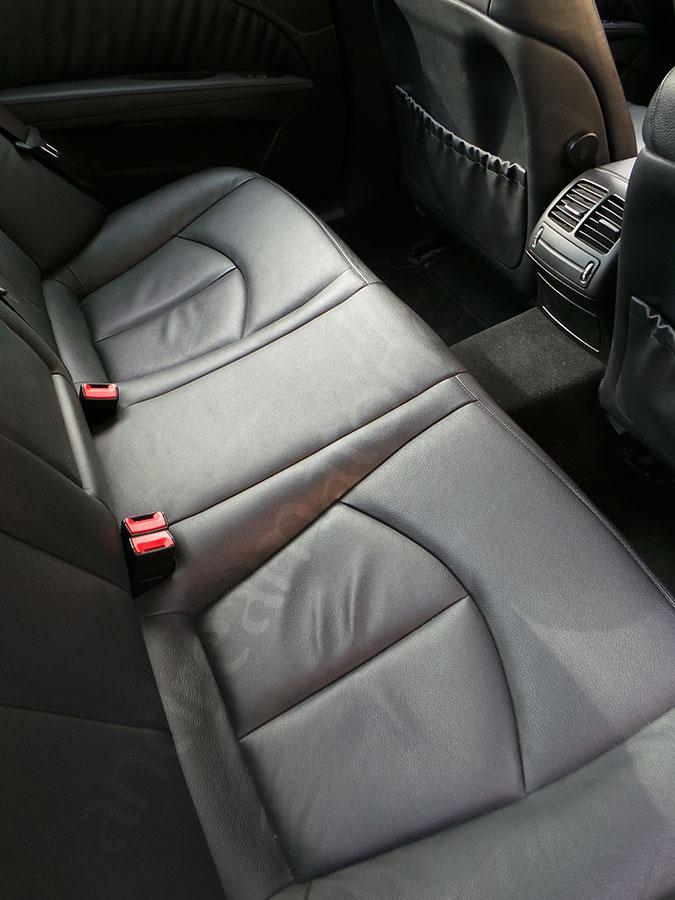 Mercedes e series car interior
