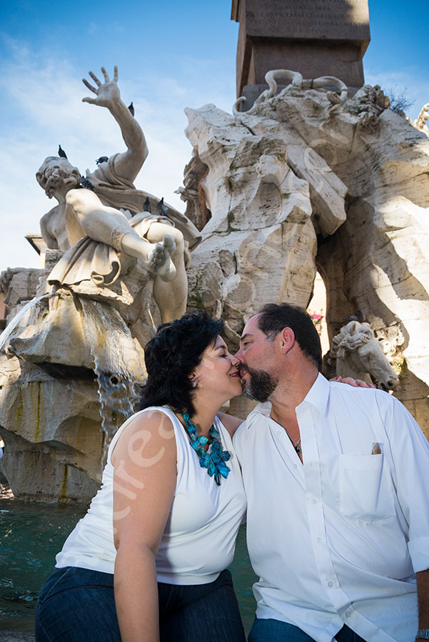 Photo tour in Rome pictures at Piazza Navona in Rome
