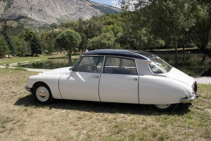 Citroen Special D Diana 1972 French wedding car variant 1