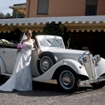 Lancia Artena Wedding car vintage