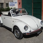 Volkswagen Beetle Cabriolet used as a wedding car in Rome