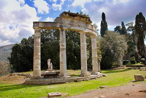 Venus Temple Hadrian's Villa Tivoli Italy