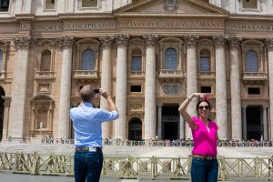 Photographing the Cathedral of Saint Peter