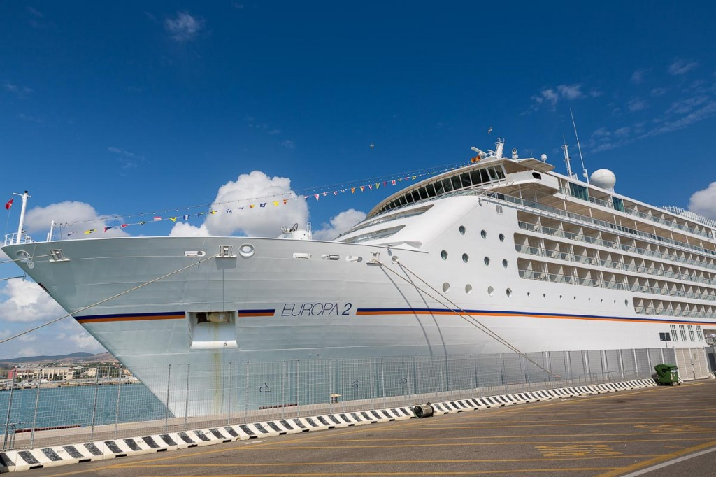 Civitavecchia cruise ship Europa 2