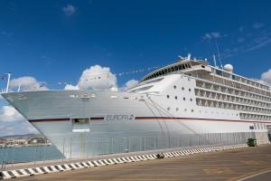 Civitavecchia cruise ship Europa 2
