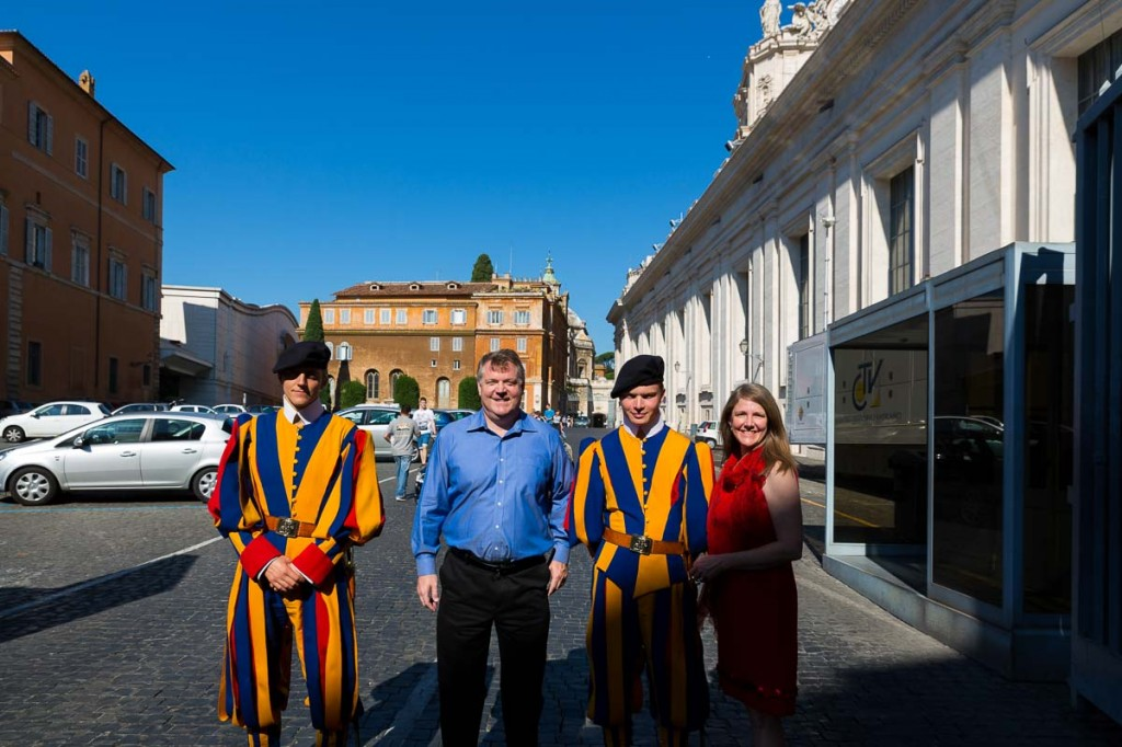 Swiss guard picture