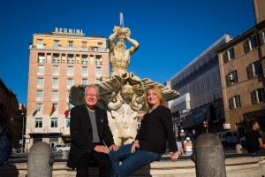 Photo shoot at Piazza Barberini