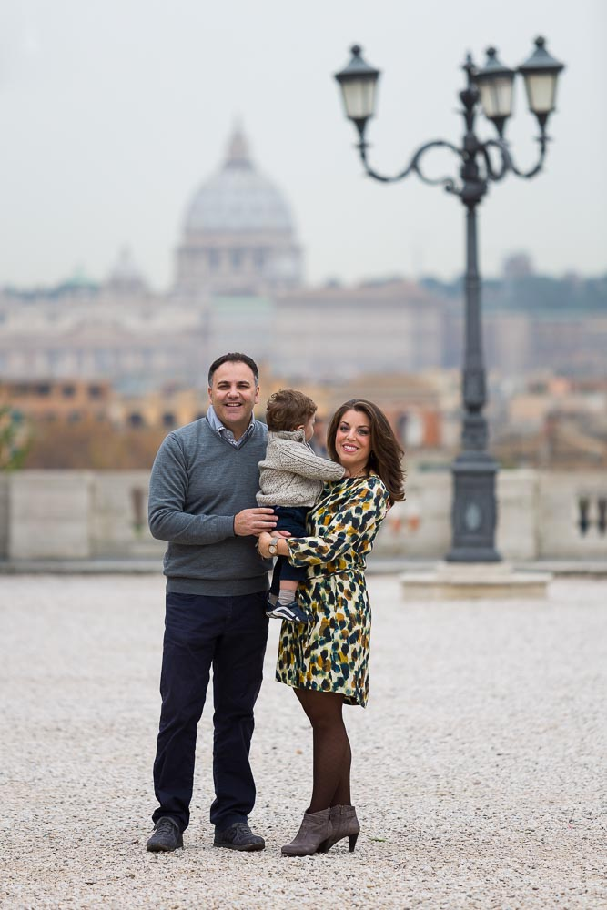 Rome Italy family photography session