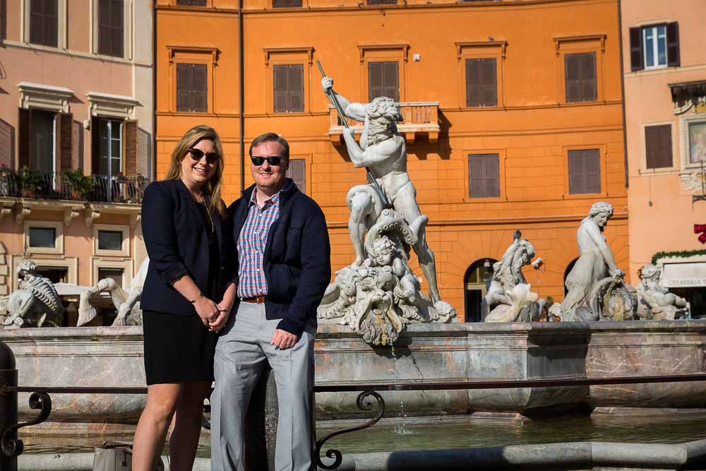 Rome Photo Tours: portraiture in Piazza Navona