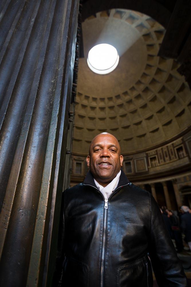 Photo portrait tours at the Roman Pantheon