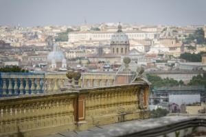 Rome rooftop details