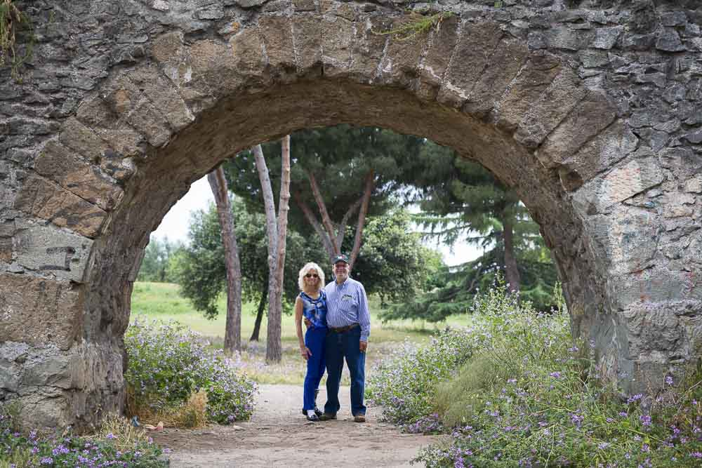 Roman aqueduct photo tour