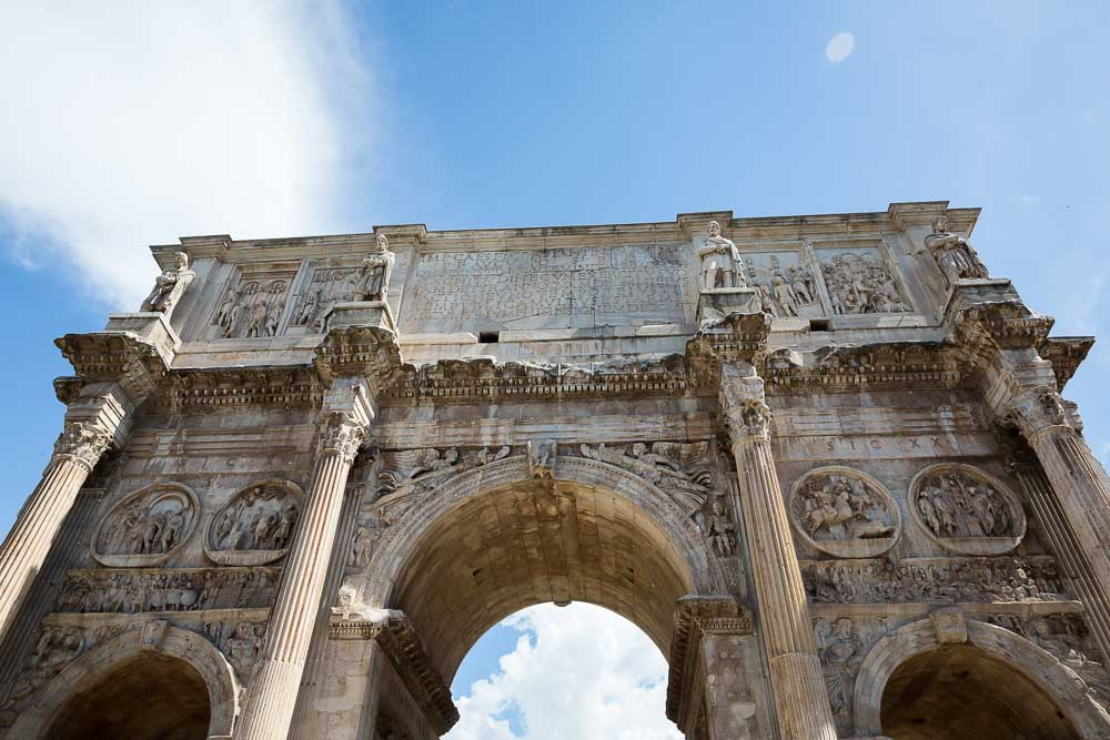 Constantine's arch in Rome