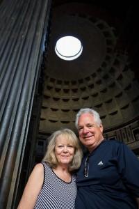 Photo tour in Rome at the Roman Pantheon
