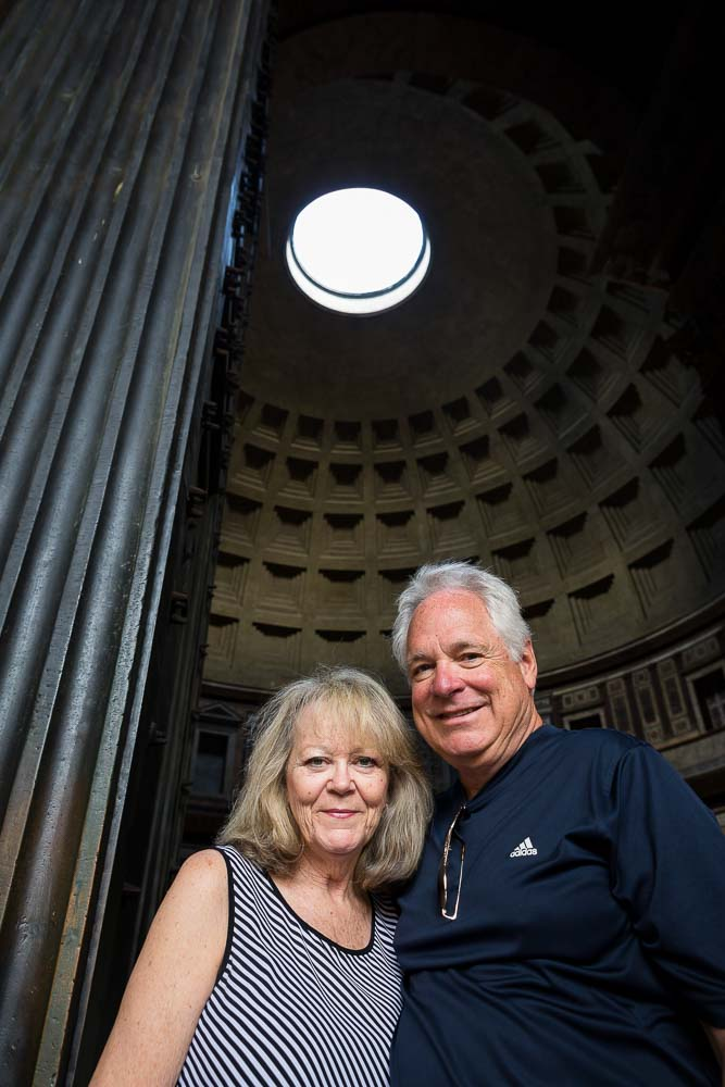 Photo tour in Rome at the Roman Pantheon