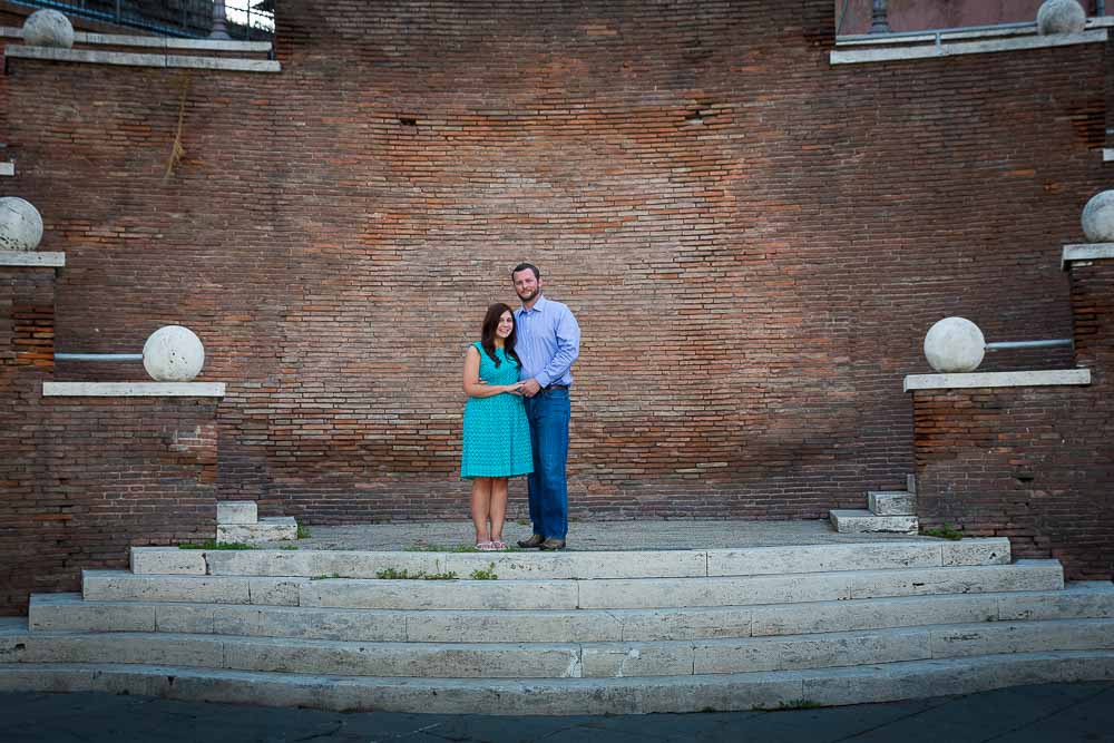 Architecture photo of a couple