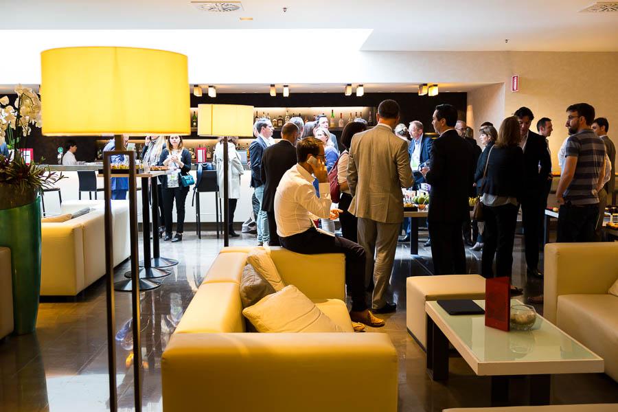 Hotel hall reception photo