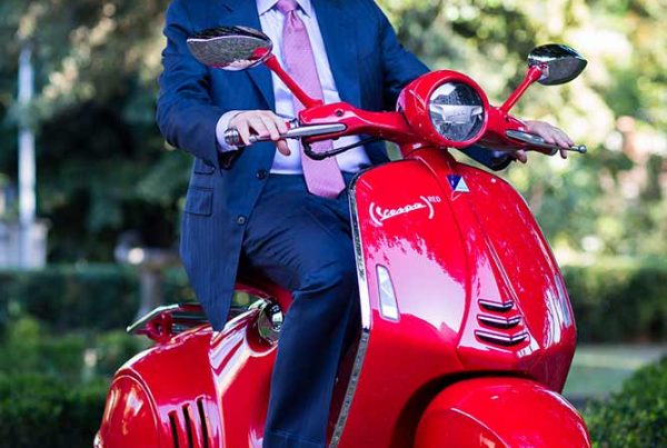 Bill on Vespa