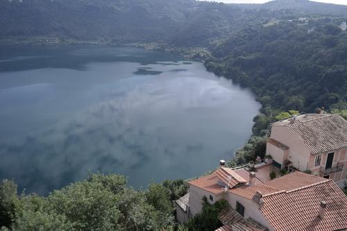 Castel Gandolfo Lake Italy