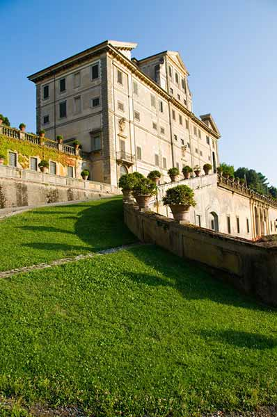 View of Villa Aldobrandini in Frascati Castelli Romani Italy