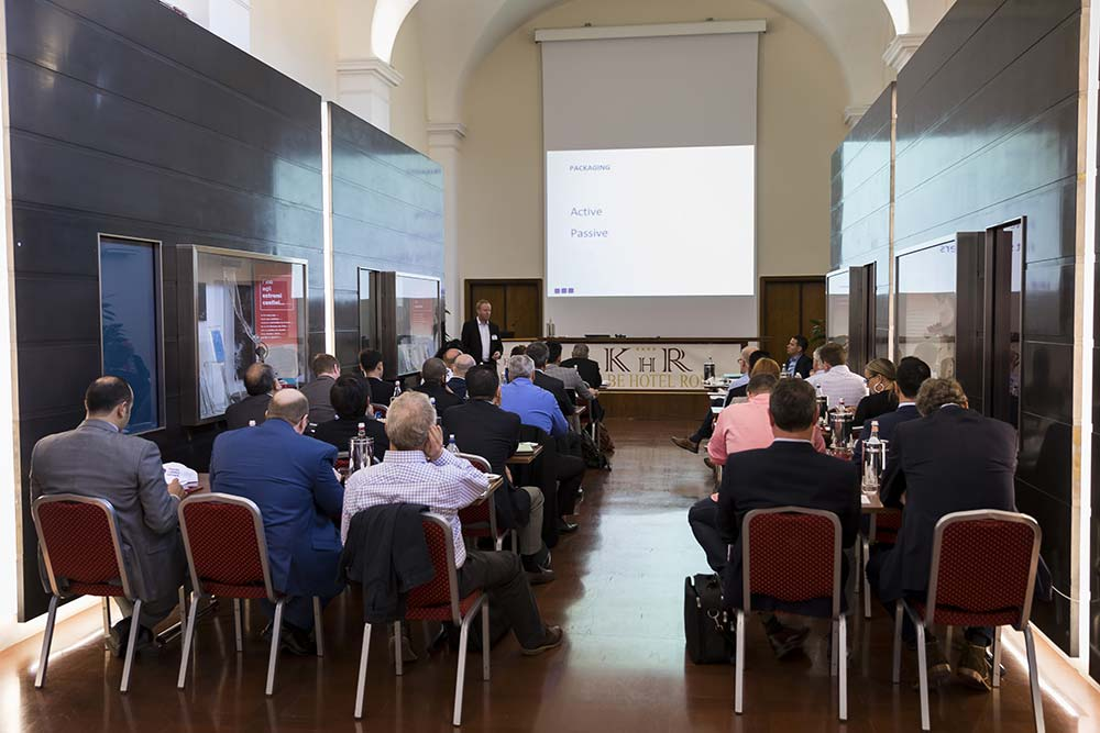 Conference Photography Service in Rome. View from the back of the room