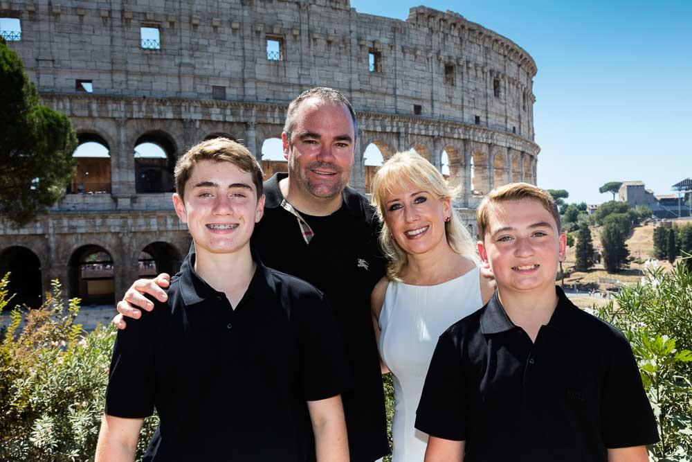 Close up picture roman colosseum