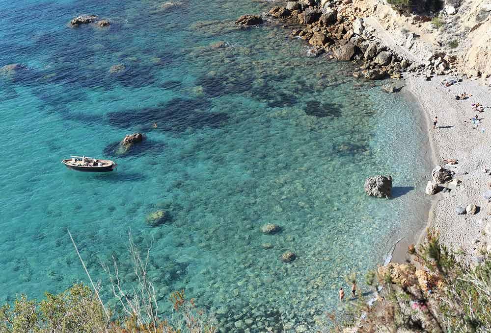 Porto Santo Stefano seaside beach