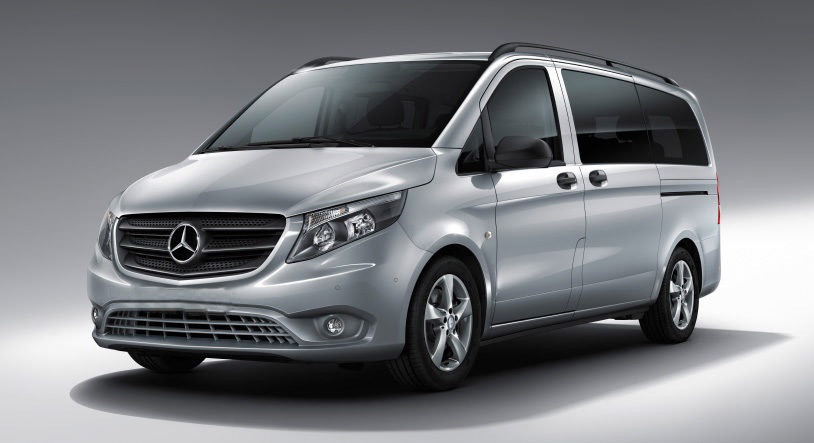 Mercedes Vito grey front side
